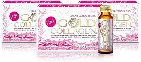 Gold Collagen Pure pack 3 cajas